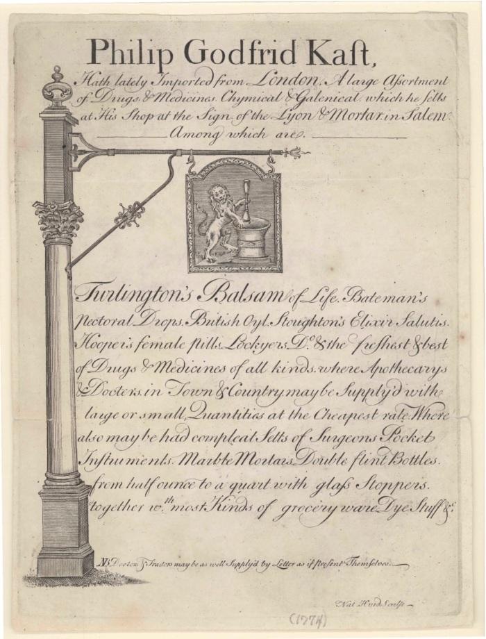 Philip Godfrid Kast Trade Card