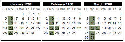 Feb 18 - Readex Calendar