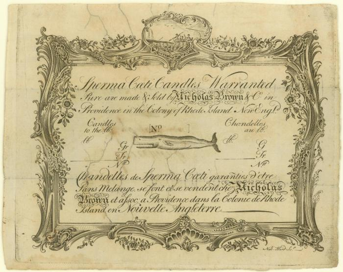 Apr 22 - Spermaceti Trade Card