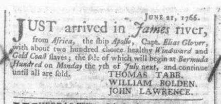 Jun 28 - 6:27:1766 Virginia Gazette