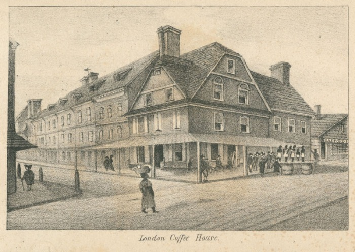 Jul 31 - London Coffee House