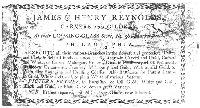 Sep 4 - Reynolds Furniture Label