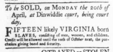 Apr 2 - Virginia Gazette Slavery 4