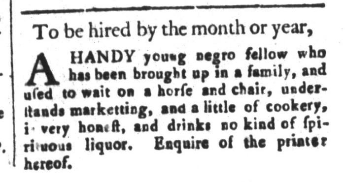 Apr 3 - South-Carolina and American General Gazette Slavery 6