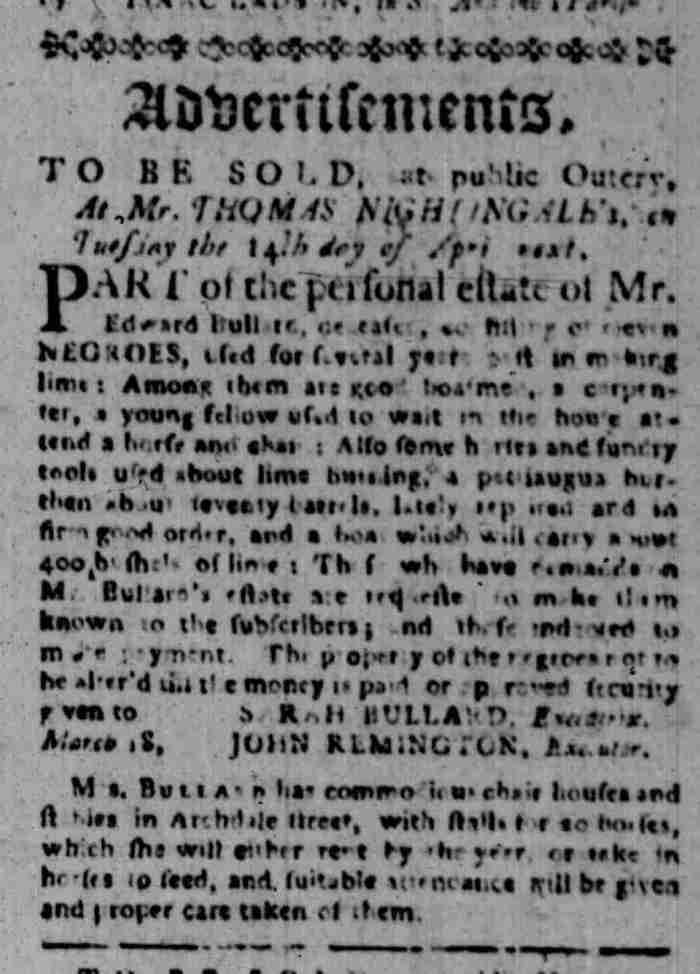 Mar 23 - South Carolina Gazette Slavery 5