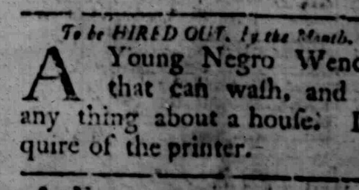Mar 23 - South Carolina Gazette Slavery 6
