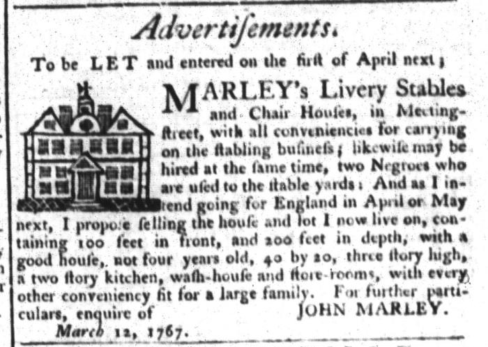 Mar 24 - South-Carolina Gazette and Country Journal Slavery 4