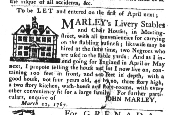 Mar 31 - South-Carolina Gazette and Country Journal Supplement Slavery 2