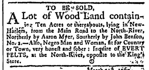 Apr 13 - New-York Gazette Slavery 2