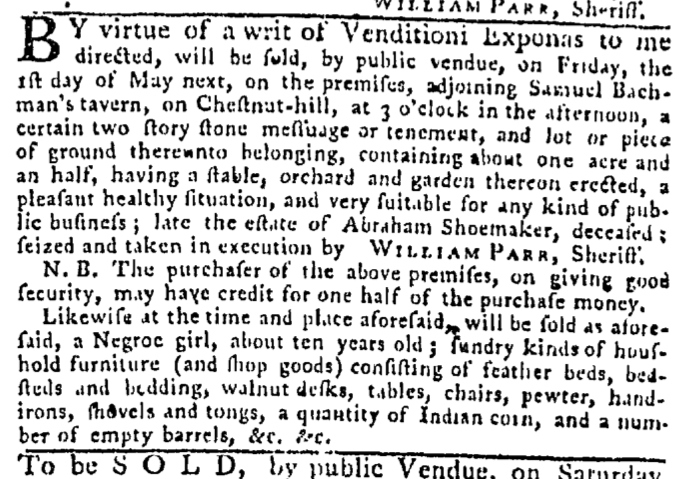 Apr 16 - Pennsylvania Gazette Slavery 3