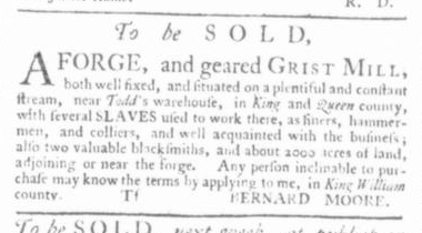 Apr 23 - Virginia Gazette Slavery 2