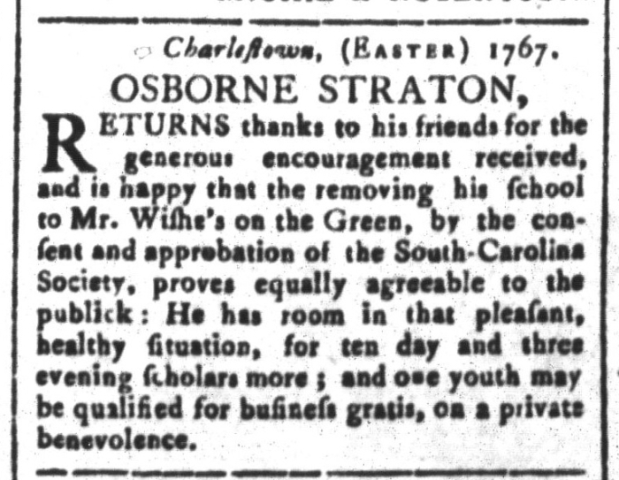Apr 24 - 4:24:1767 South-Carolina and American General Gazette