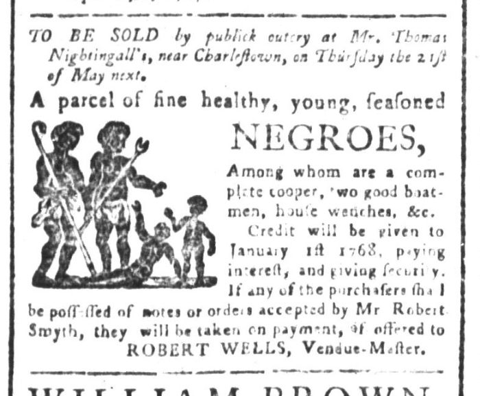 Apr 24 - South-Carolina and American General Gazette Slavery 3