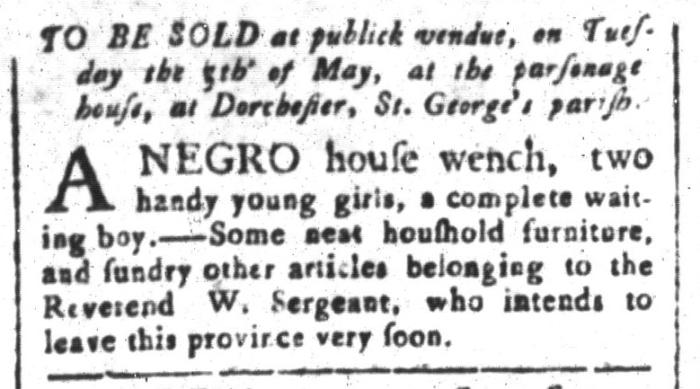 Apr 24 - South-Carolina and American General Gazette Slavery 9