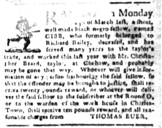 Apr 27 - South Carolina Gazette Slavery 5