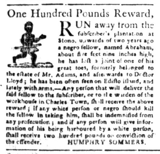Apr 27 - South Carolina Gazette Slavery 7