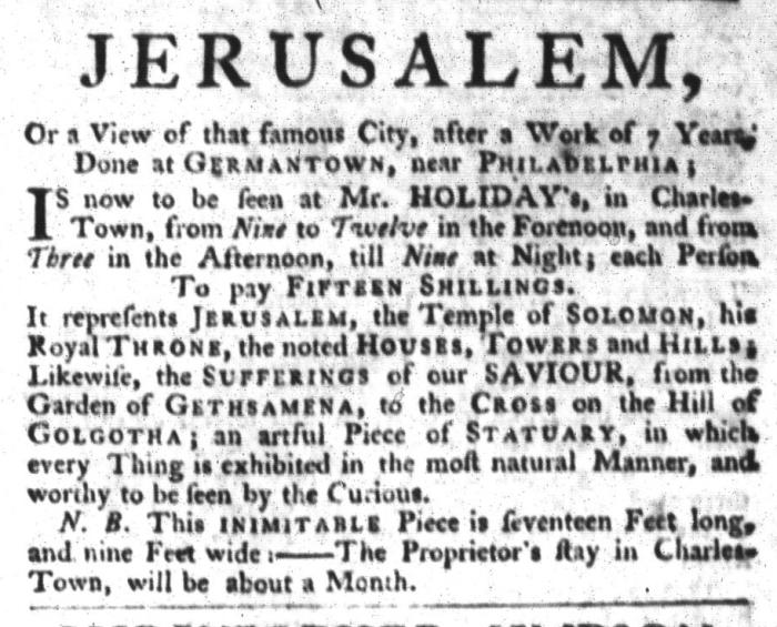 Apr 28 - 4:28:1767 South-Carolina Gazette and Country Journal