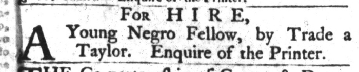 Apr 28 - South-Carolina Gazette and Country Journal Slavery 5