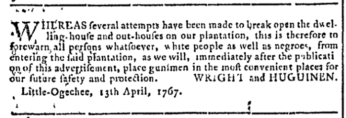 Apr 29 - Georgia Gazette Slavery 5