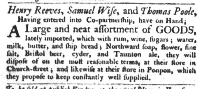 Apr 7 - 4:7:1767 South-Carolina Gazette and Country Journal