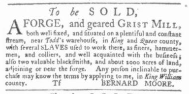 Jun 4 - Virginia Gazette Slavery 3