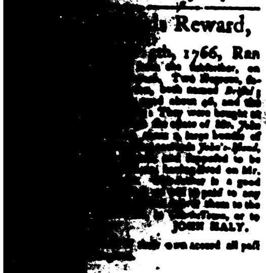 May 11 - South Carolina Gazette Slavery 14