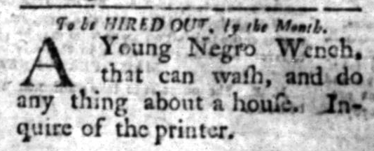 May 11 - South Carolina Gazette Slavery 9