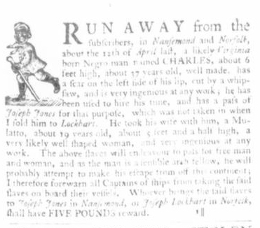 May 14 - Virginia Gazette Slavery 2