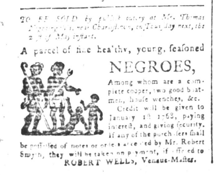 May 15 - South-Carolina and American General Gazette Slavery 2