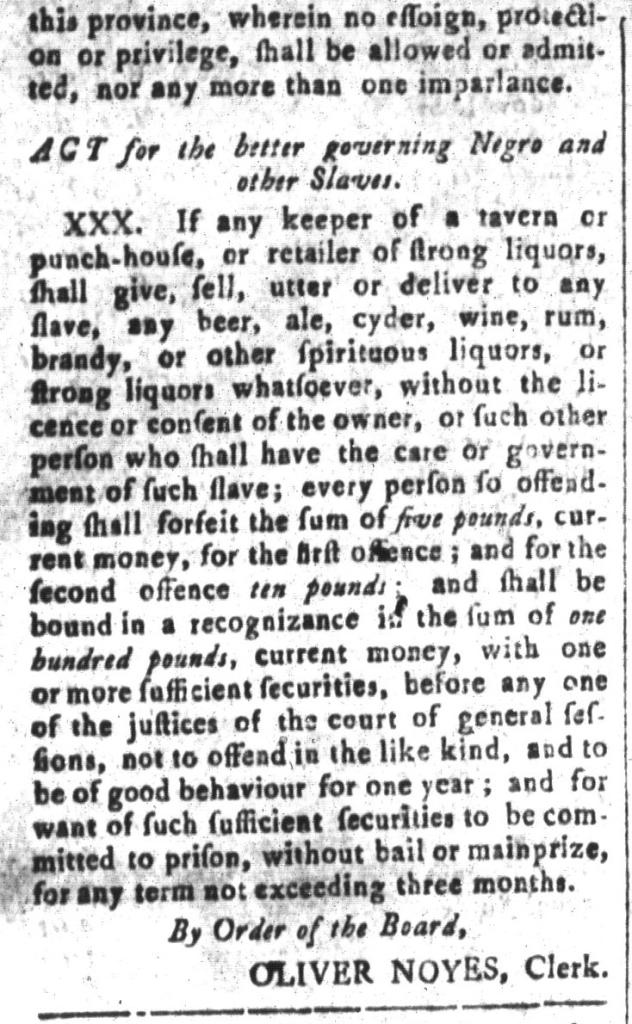 May 15 - South-Carolina and American General Gazette Slavery 9B