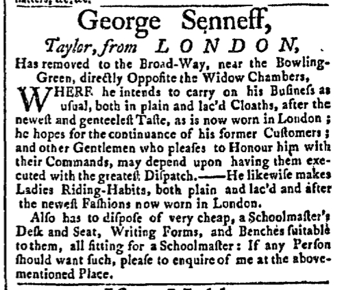 May 18 - 5:18:1767 New-York Gazette