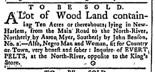May 18 - New-York Gazette Slavery 1