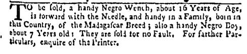 May 18 - New-York Mercury Slavery 1