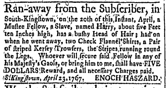 May 18 - Newport Mercury Slavery 1