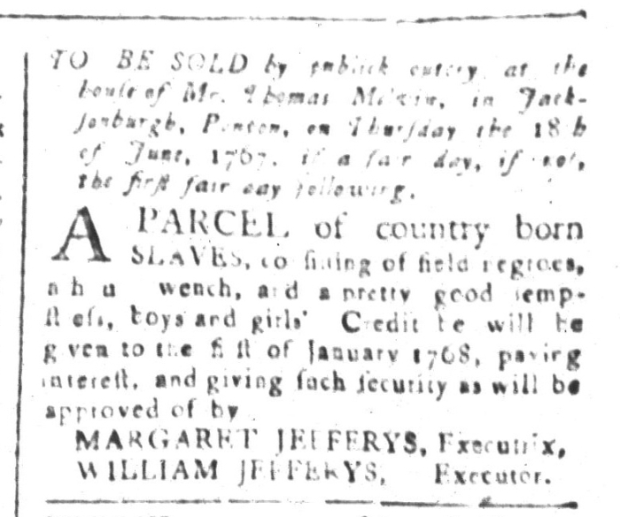 May 22 - South-Carolina and American General Gazette Slavery 3