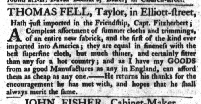 May 5 - 5:5:1767 South-Carolina Gazette and Country Journal