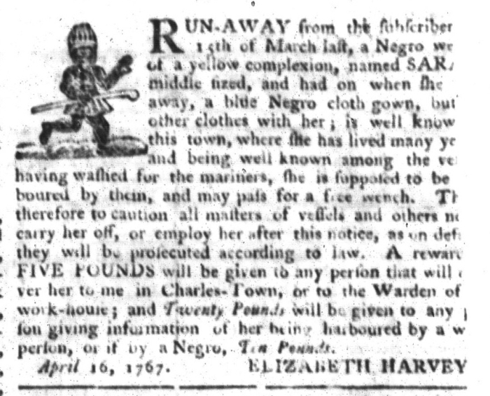 May 5 - South-Carolina Gazette and Country Journal Supplement Slavery 5