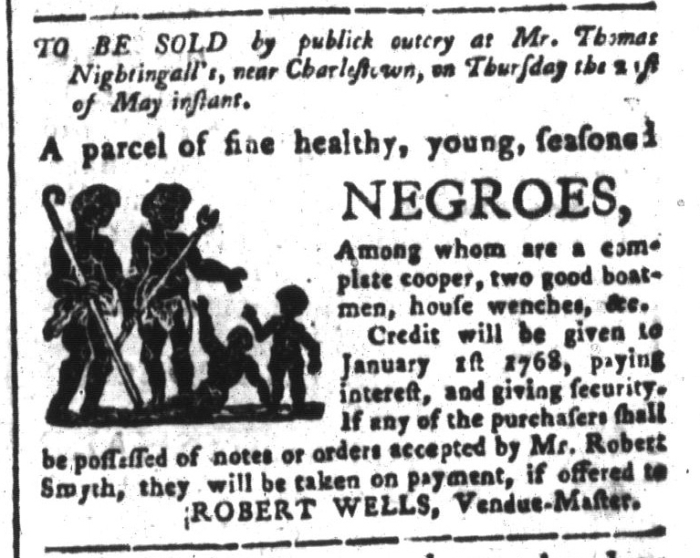 May 8 - South-Carolina and American General Gazette Slavery 11