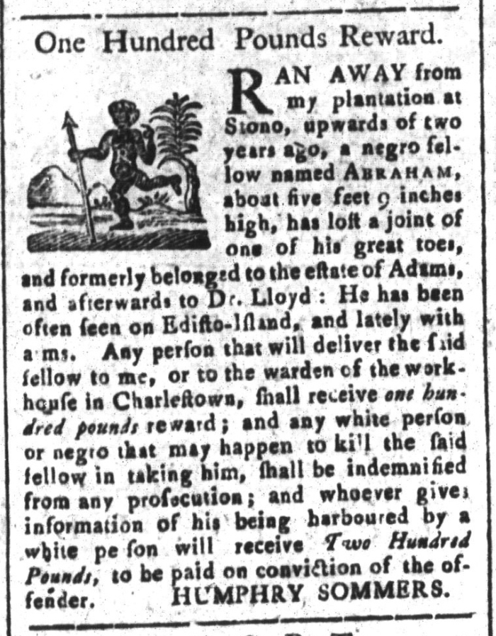 May 8 - South-Carolina and American General Gazette Slavery 9