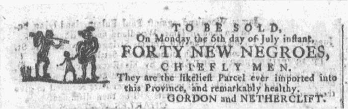 Jul 1 - Georgia Gazette Slavery 1