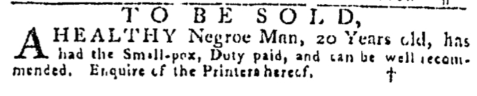 Jul 16 - Pennsylvania Gazette Slavery 2