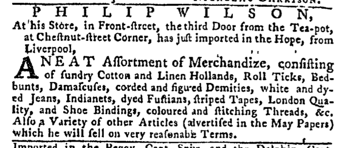 Jul 2 - 7:2:1767 Pennsylvania Gazette