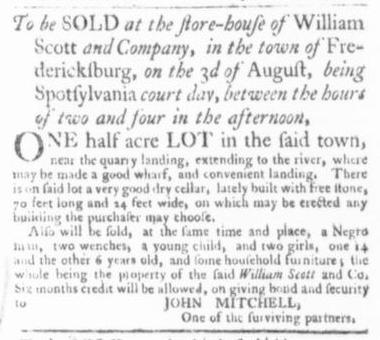 Jul 2 - Virginia Gazette Slavery 2