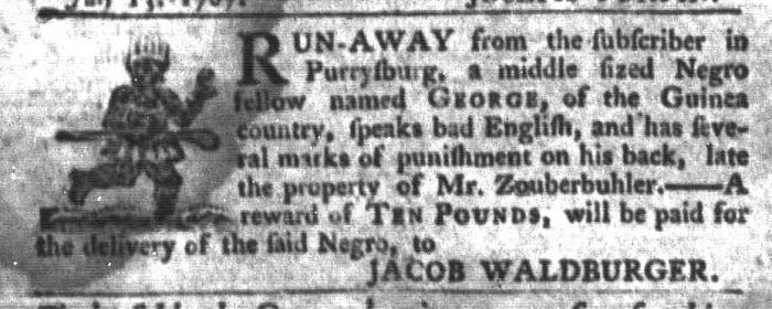 Jul 21 - South-Carolina Gazette and Country Journal Slavery 10