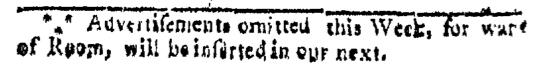 Jul 25 - 7:25:1767 Providence Gazette