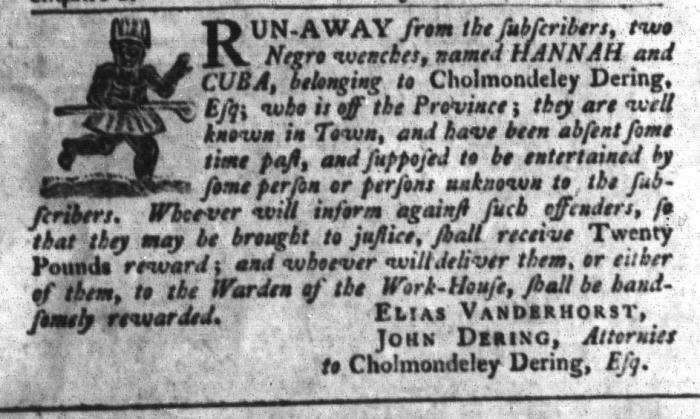 Jun 23 - South-Carolina Gazette and Country Journal Slavery 7