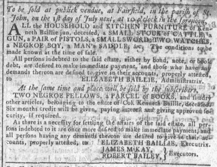Jun 24 - Georgia Gazette Slavery 6