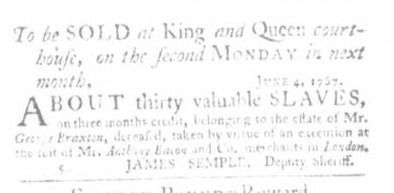 Jun 25 - Virginia Gazette Slavery 3
