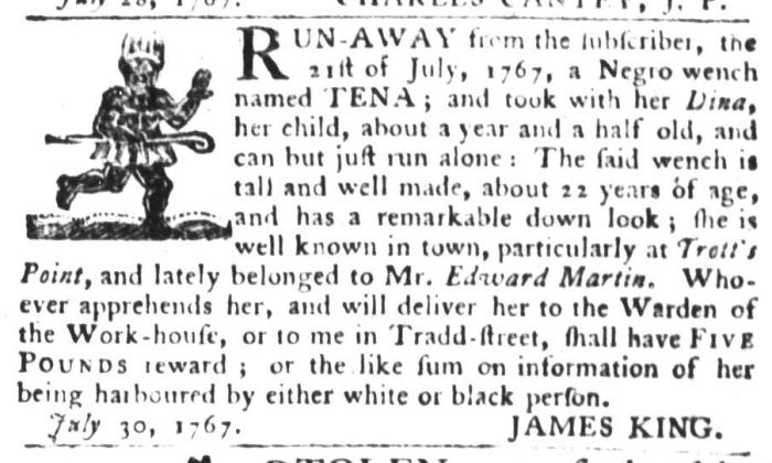 Aug 4 - South-Carolina Gazette and Country Journal Slavery 3