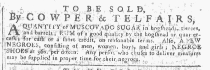 Aug 5 - Georgia Gazette Slavery 2